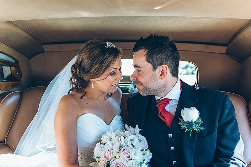 Summer Scottish Vintage Cottiers Theatre Wedding