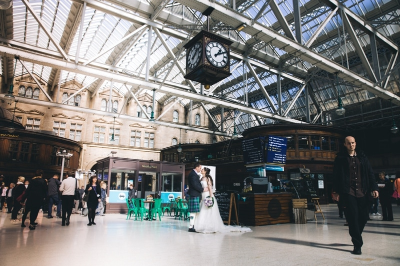 Glasgow Wedding Photography St Andrews The Barras City Centre Central Station (10 of 94).jpg