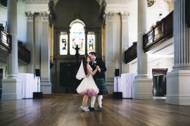 St Andrews Square Glasgow Wedding Photography