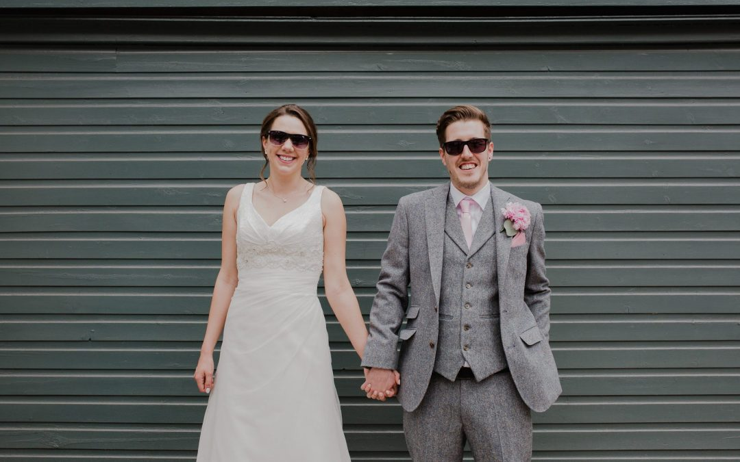 Laura & James' Pink Floral Saxon Mill Wedding Photos | Warwickshire