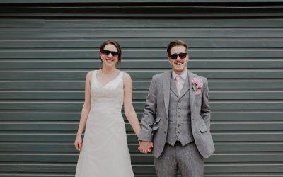 Laura & James' Pink Floral Saxon Mill Wedding Photos | Warwickshire