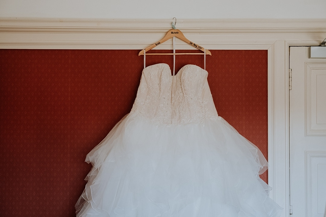 davids bridal wedding gown princess