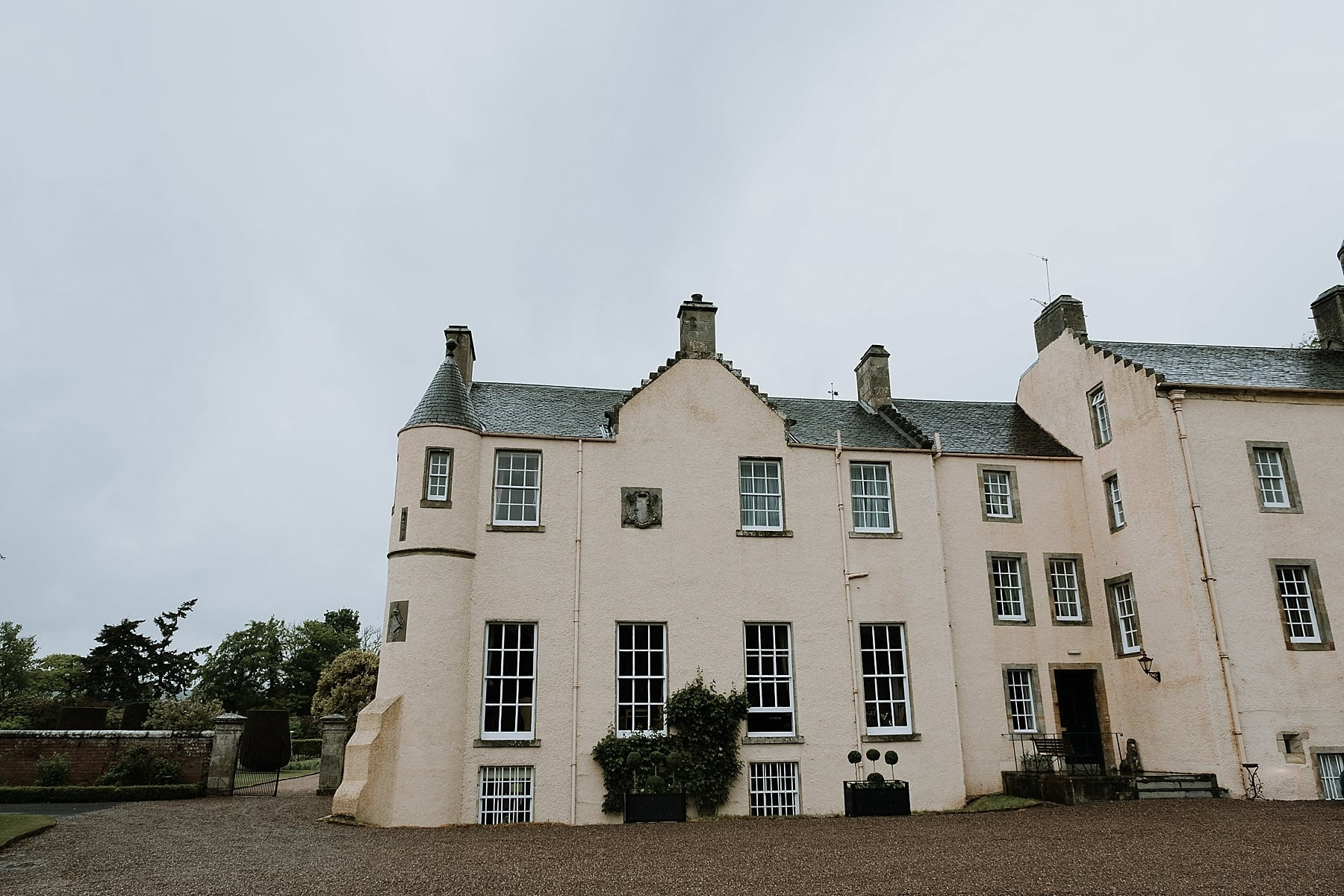 Myres castle wedding photos