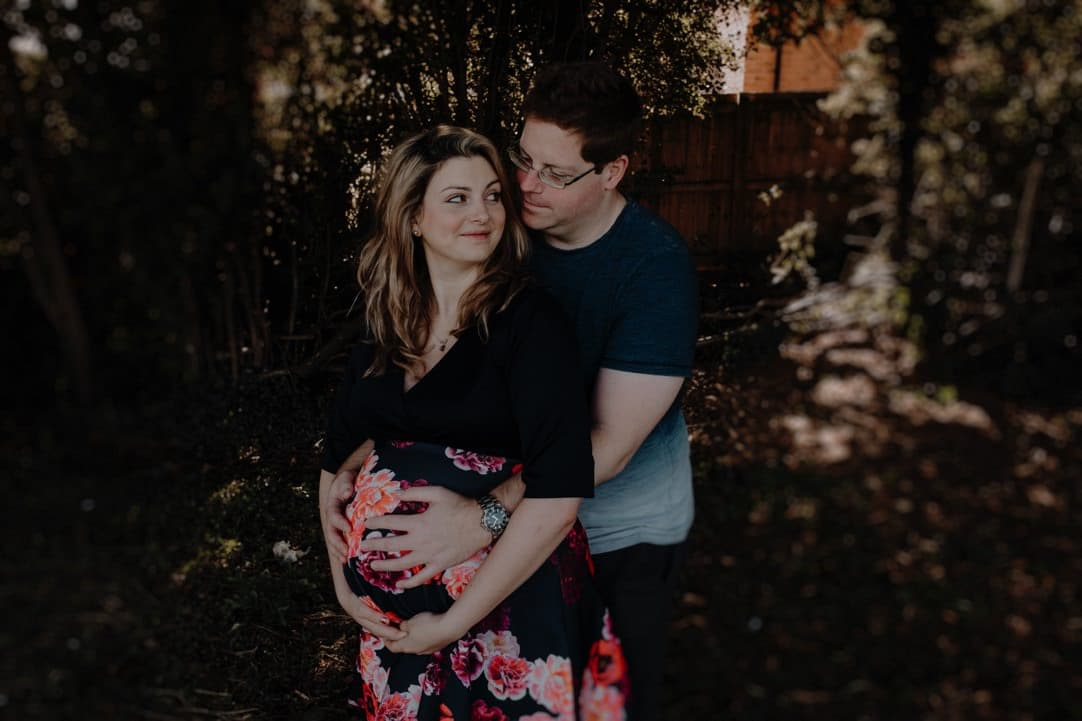 alternative quirky maternity photographer Leicestershire