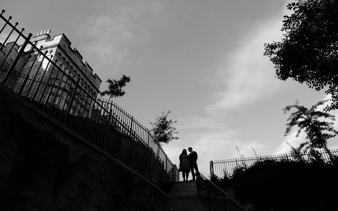 Crossbasket Castle couples shoot Scotland | Lindsay & Ian