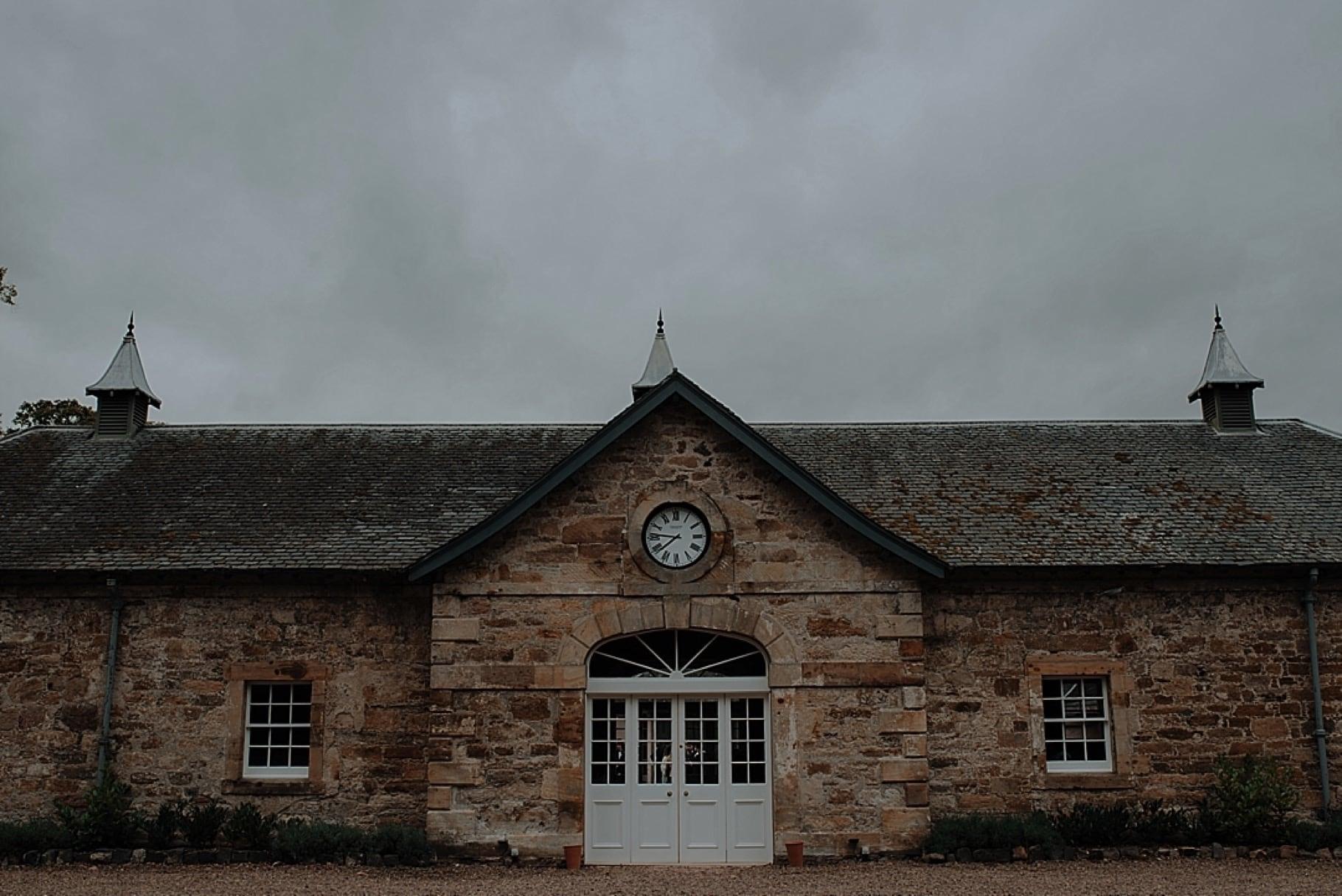 Colstoun House coachhouse