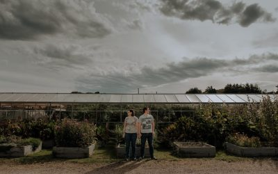 Scottish Couples Photography: Secret Herb Garden Couples Session | John & Fiona