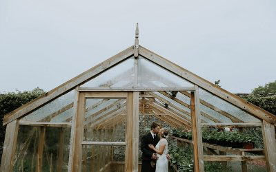 Myres Castle wedding with Humanist ceremony and Pug bridesmaid | Emily & Oliver