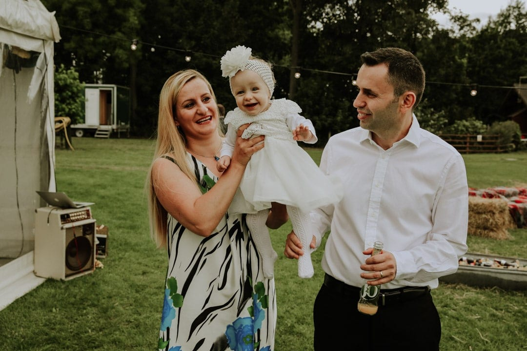 baby-wearing-tulle-dress-decorative-headband-leicestershire-diy-wedding