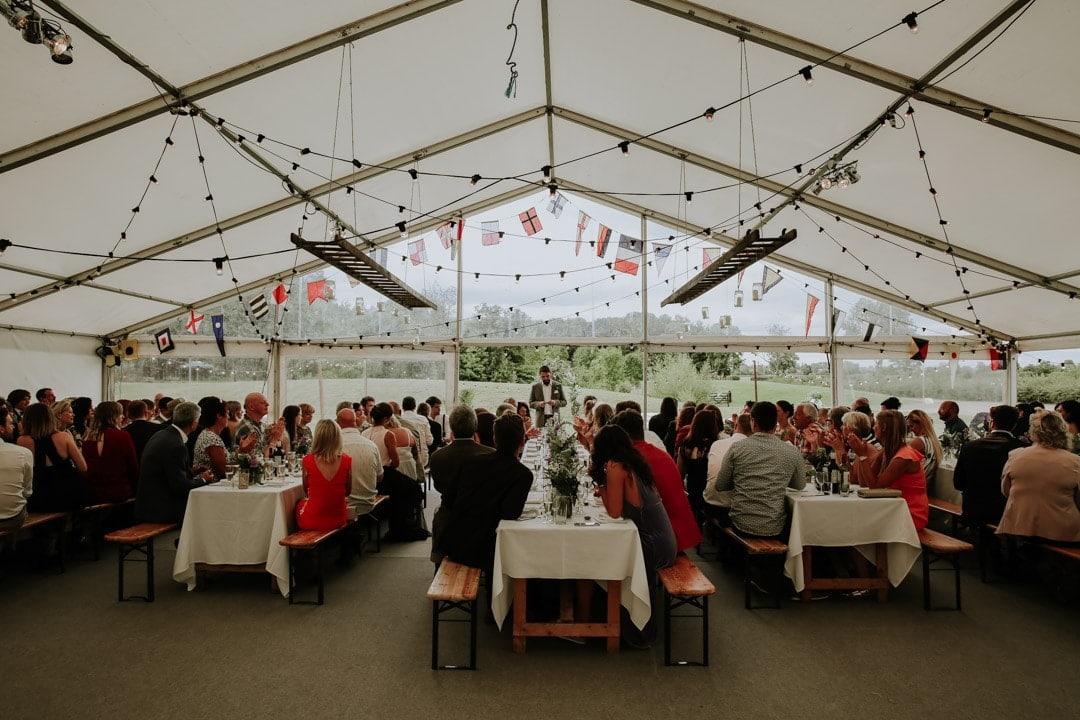 grooms-speech-leicestershire-diy-farm-wedding