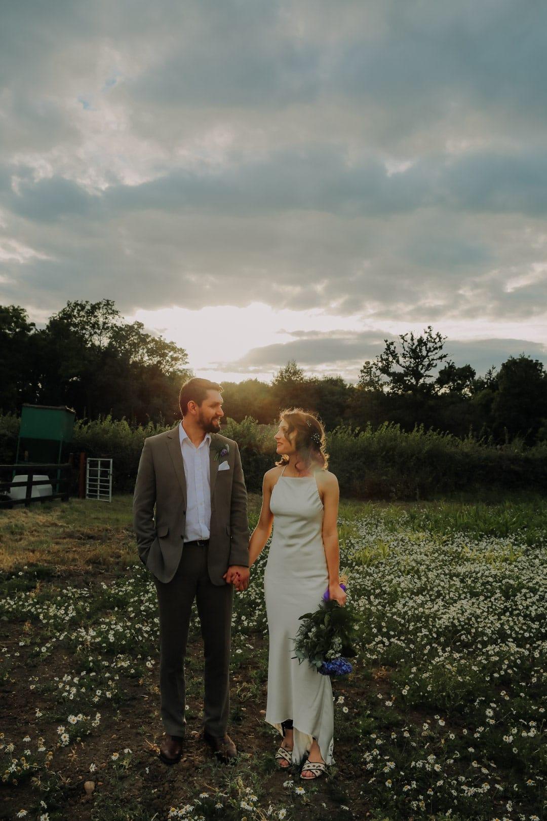 golden-hour-portrait-bride-groom-leicestershire-wedding-photographer