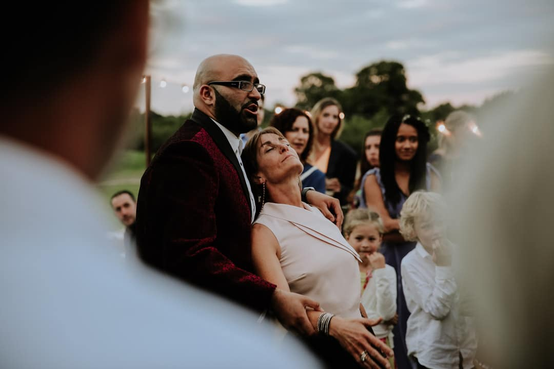 cool-guests-candid-shot-leicestershire-wedding