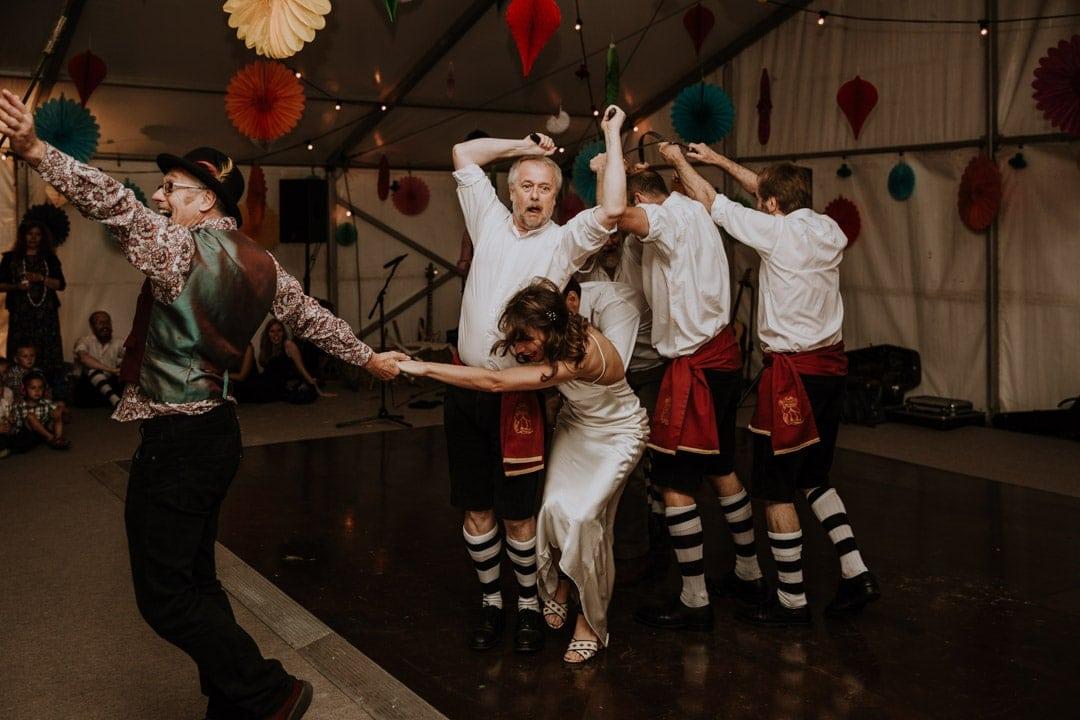 wedding-morris-dancers-leicestershire-wedding-bride-joins-in