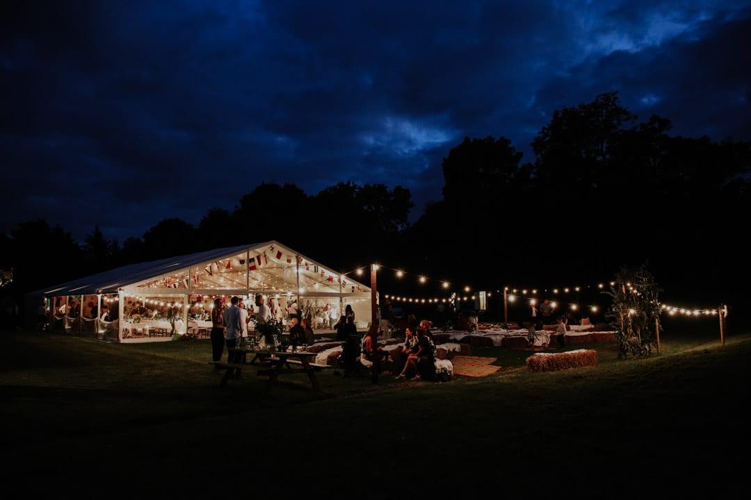 wedding-marquee-nighttime-festoon-lighting-diy-leicestershire-wedding