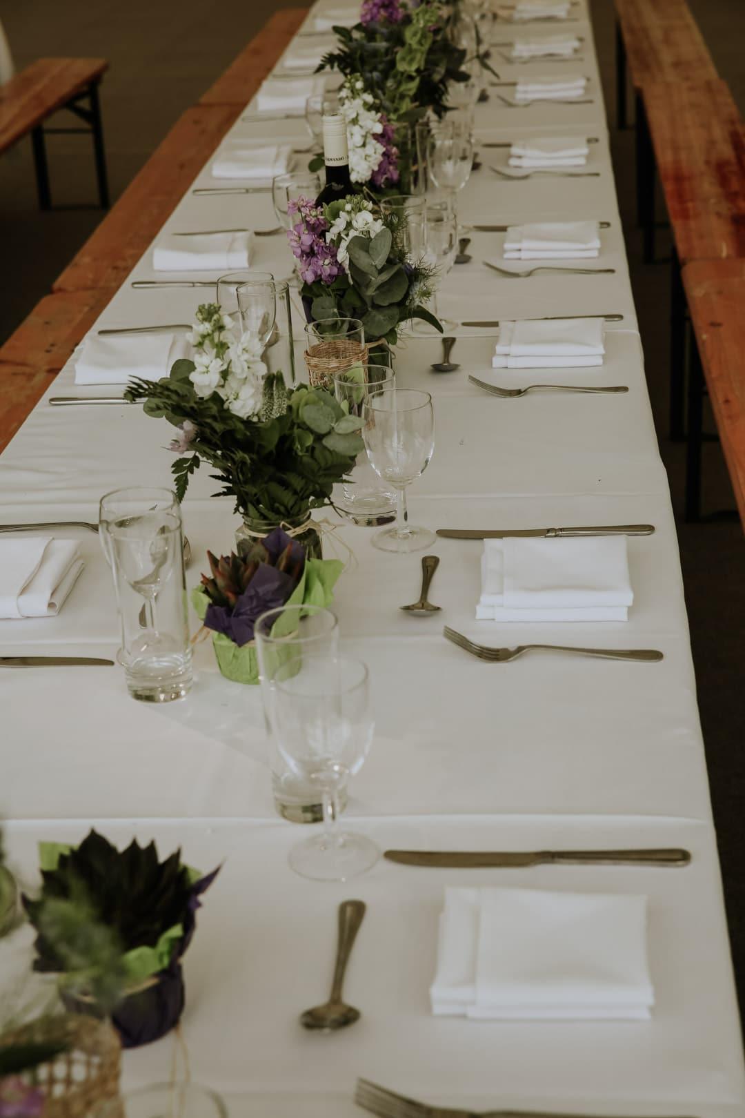 wedding-centrepieces-ferns-diy-leicestershire-wedding
