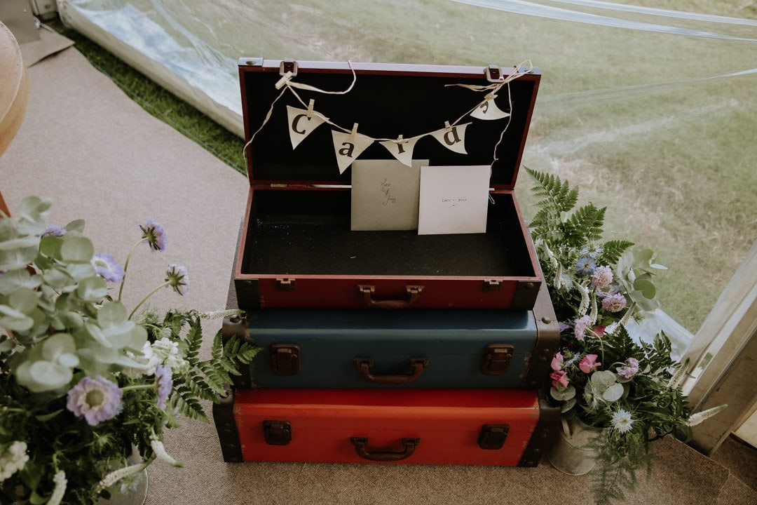 wedding-card-suitcase-maruee-wedding-leicestershire