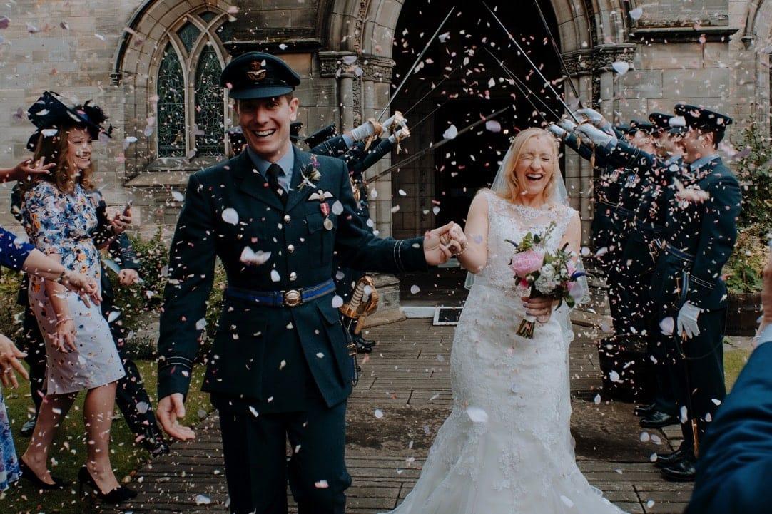 Summer RAF Wedding at The Walled Garden at Strathtyrum 053
