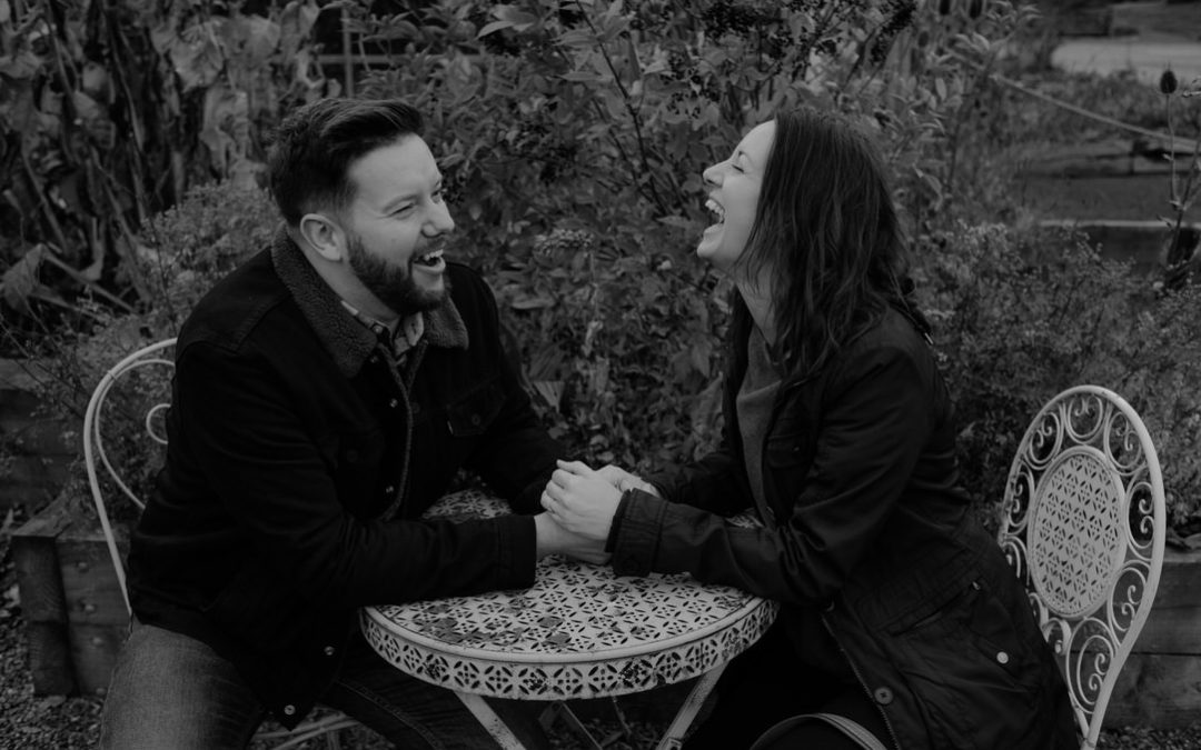 Moody Engagement shoot in Edinburgh | Toni & James