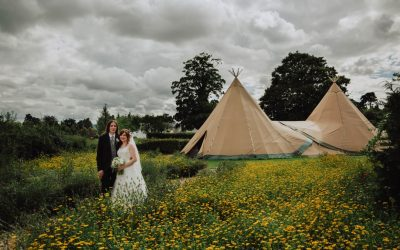 Layla & Chris' Woodland wedding photos at Wroxetor Hotel Shrewsbury