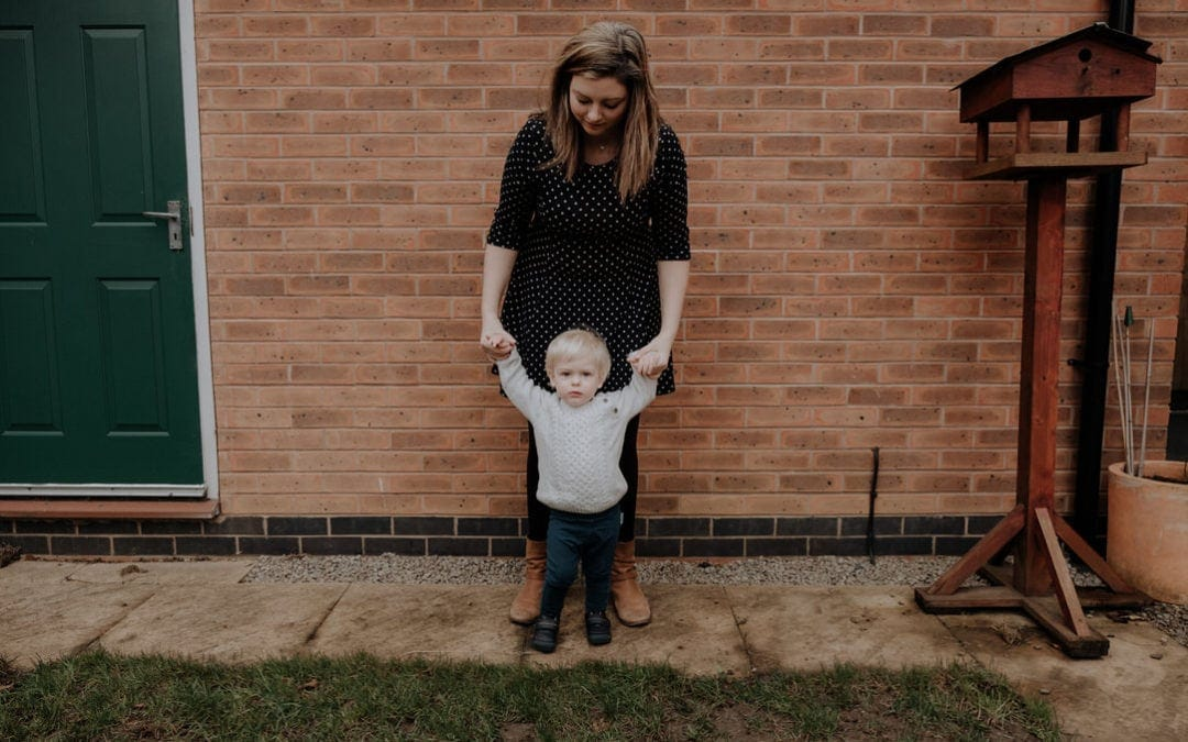 Leicestershire Mummy & Me shoot | Lucie & William